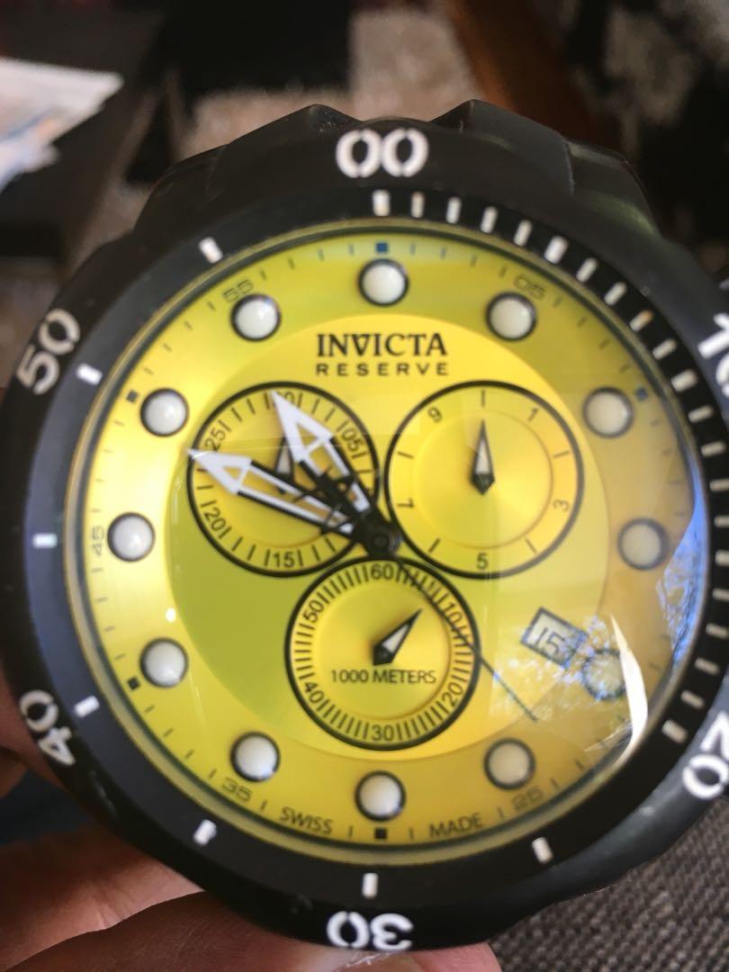 Invicta Venom Swiss Made Divers Watch