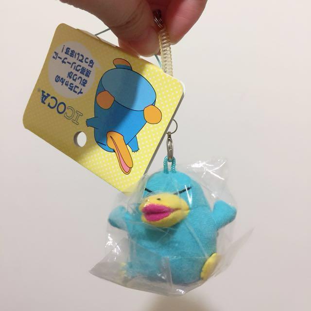 JR西日本 ICOCA イコちゃん 吊飾 娃娃 玩偶