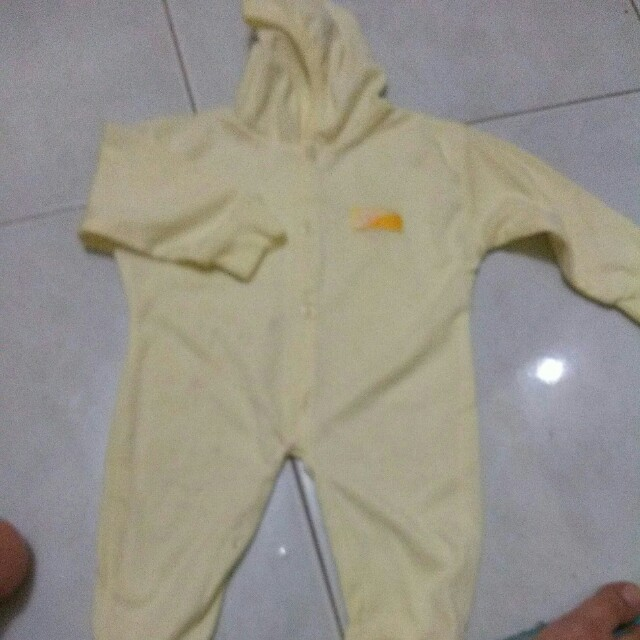 Jumpsuit kuning #makintebel