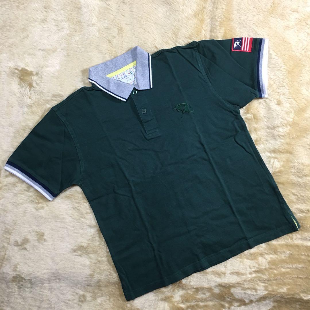 kids - green simple collar