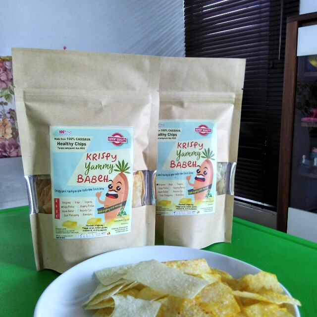 Healthy Chips krispy yummy