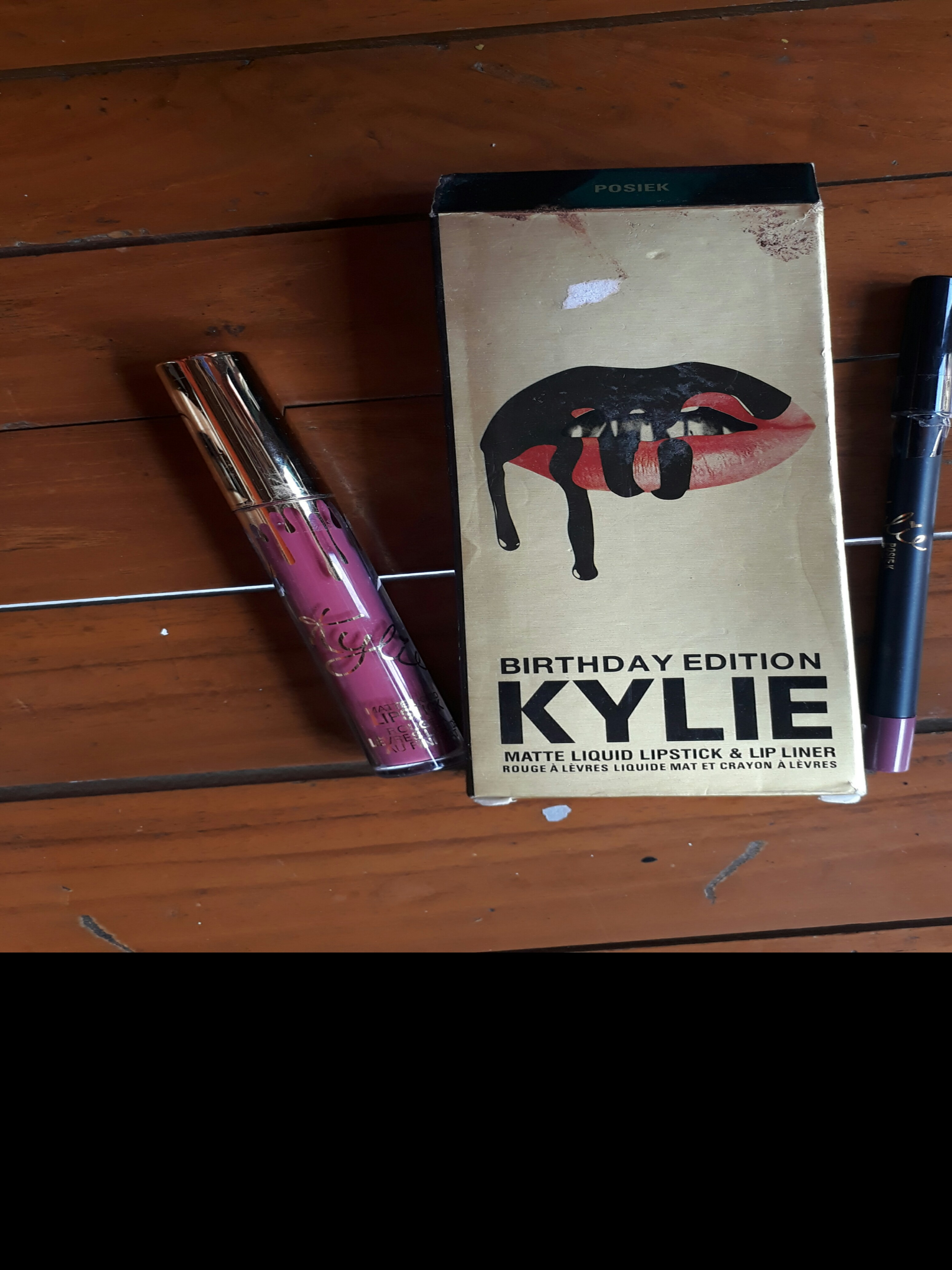 Kylie birthday edition 2 in 1