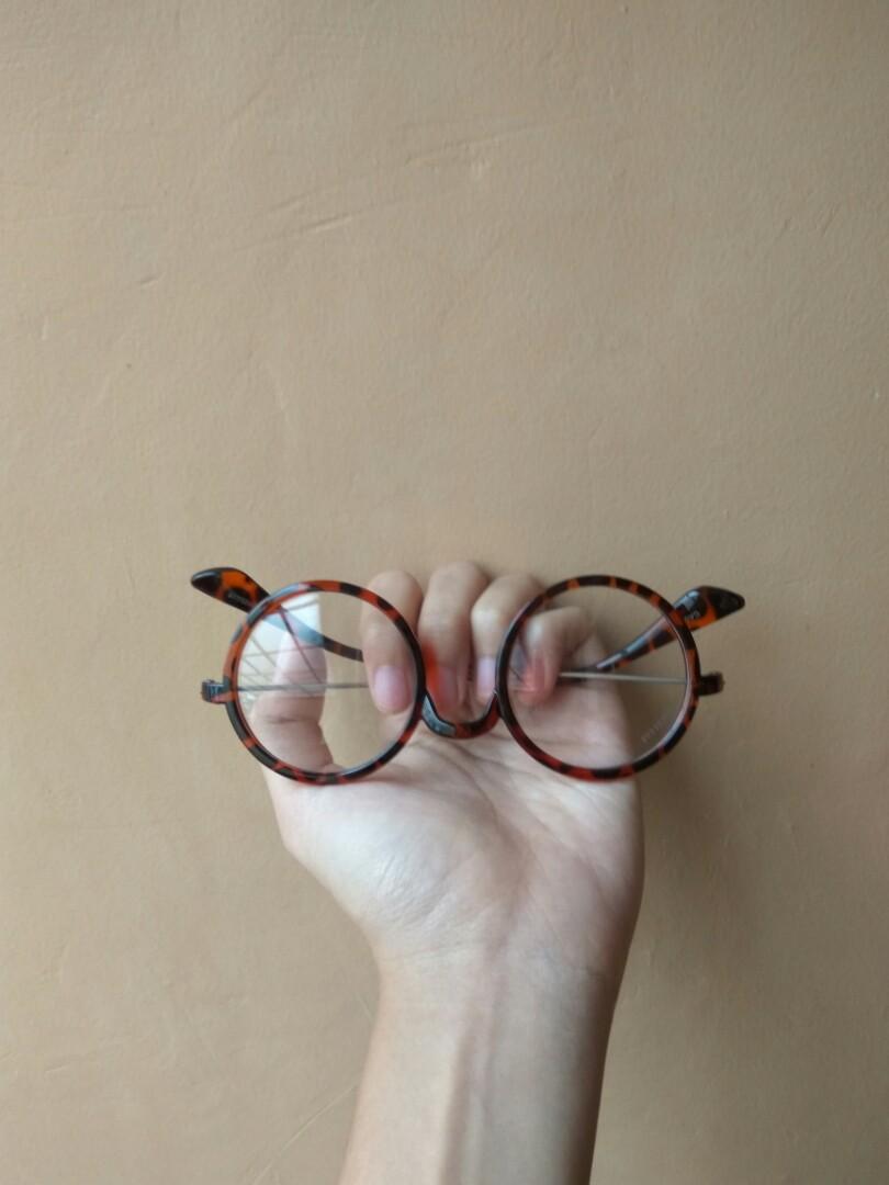 Leopard eyeglasses