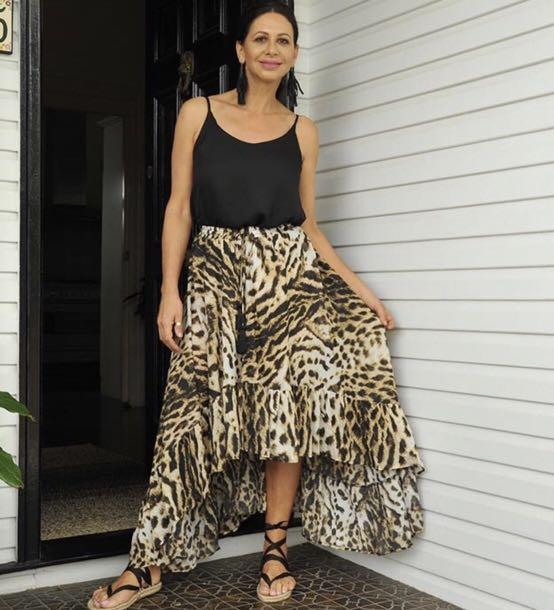 Leopard Skirt - Eb & Ive