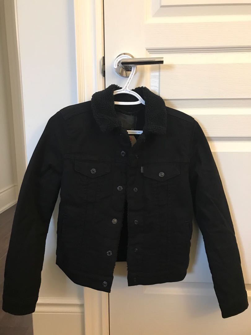 Levi Denim Fur jacket
