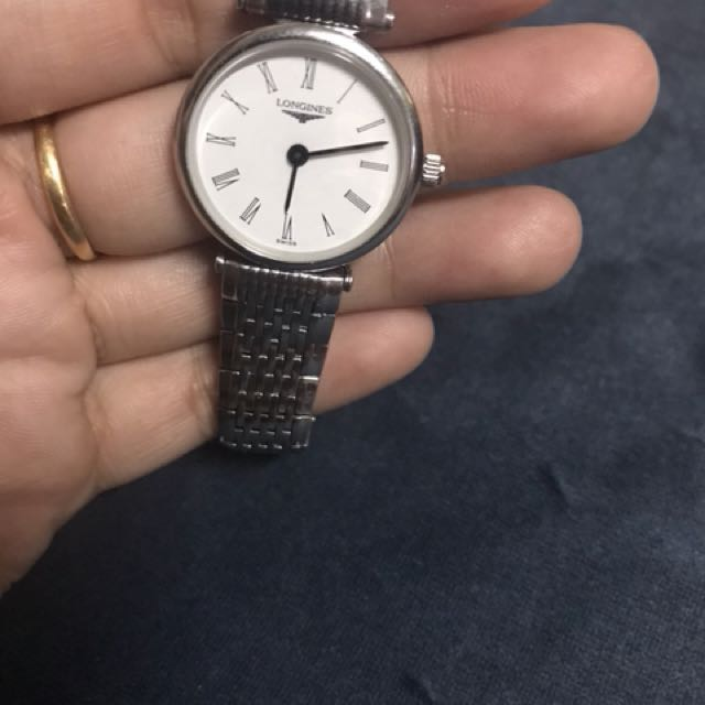 Longines guaranteed authentic lady watch