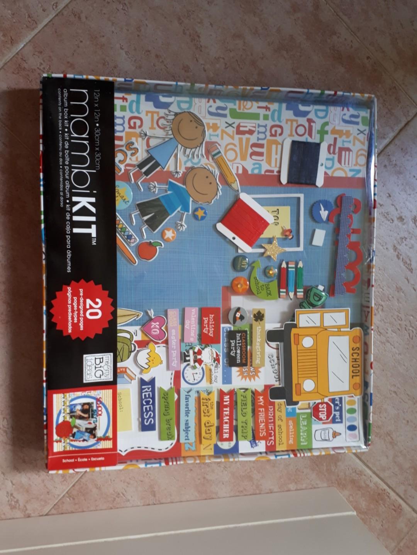 Mambi Scrapbook Kit School Days Babies Kids On Carousell