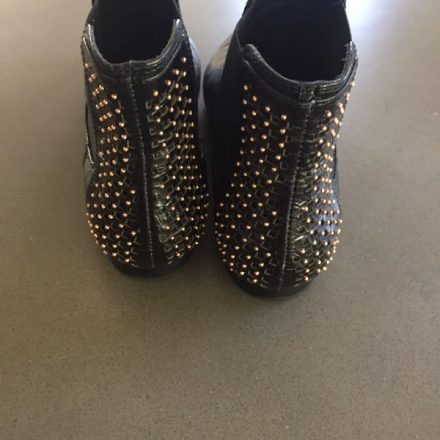 Mimco Boots leather