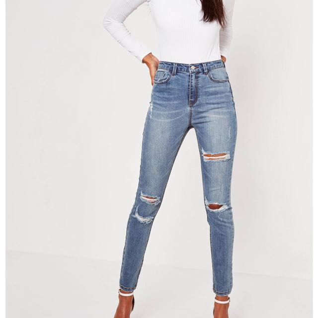 Missguided Ripped Jeans