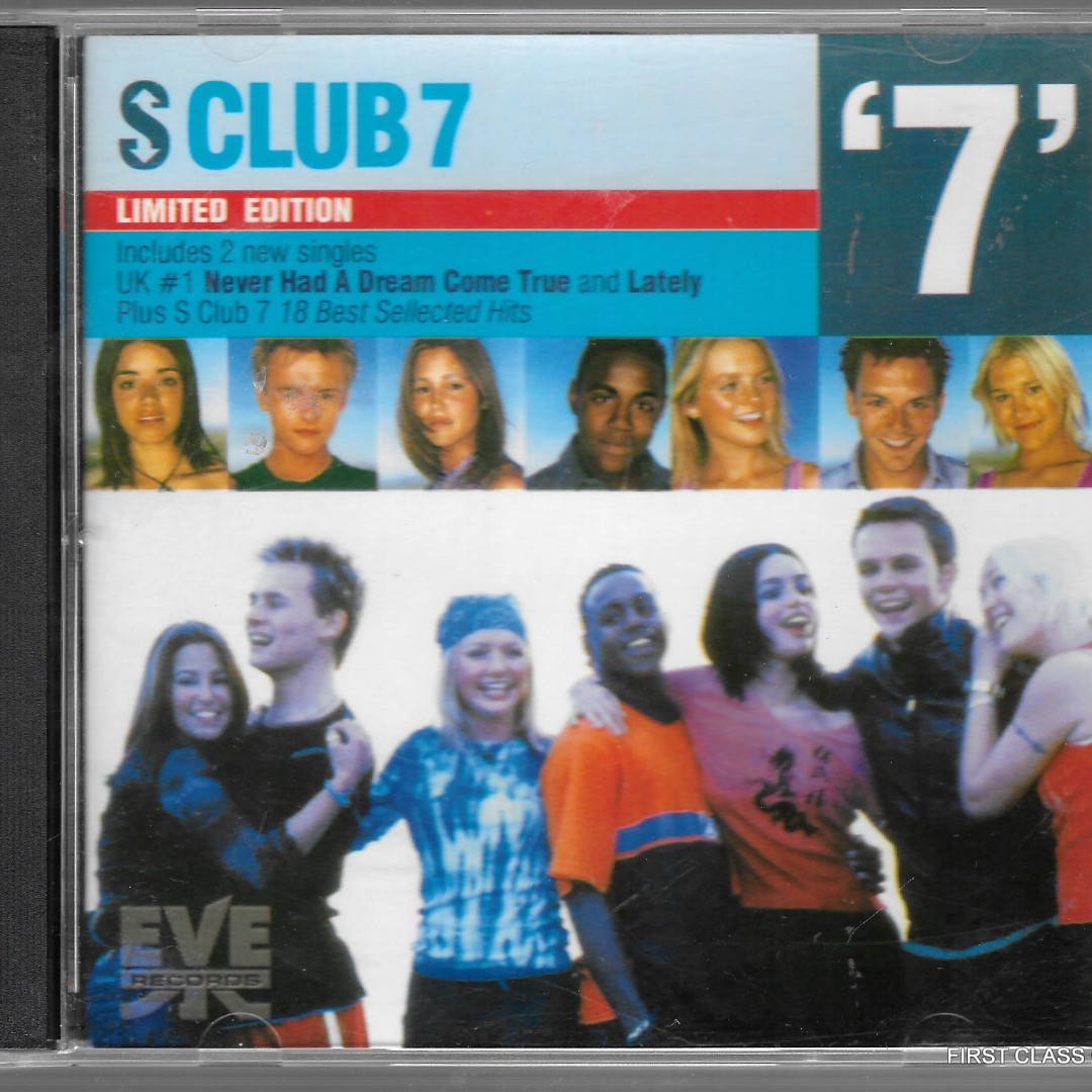 F90) MY PRELOVED CD - S CLUB 7 /FREE DELIVERY (F90), Music