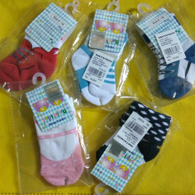 New 5pcs Kaos kaki Baby Pipiniko