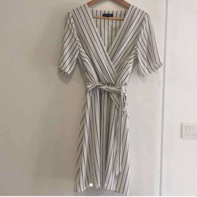New Look Midi Dress with stripes