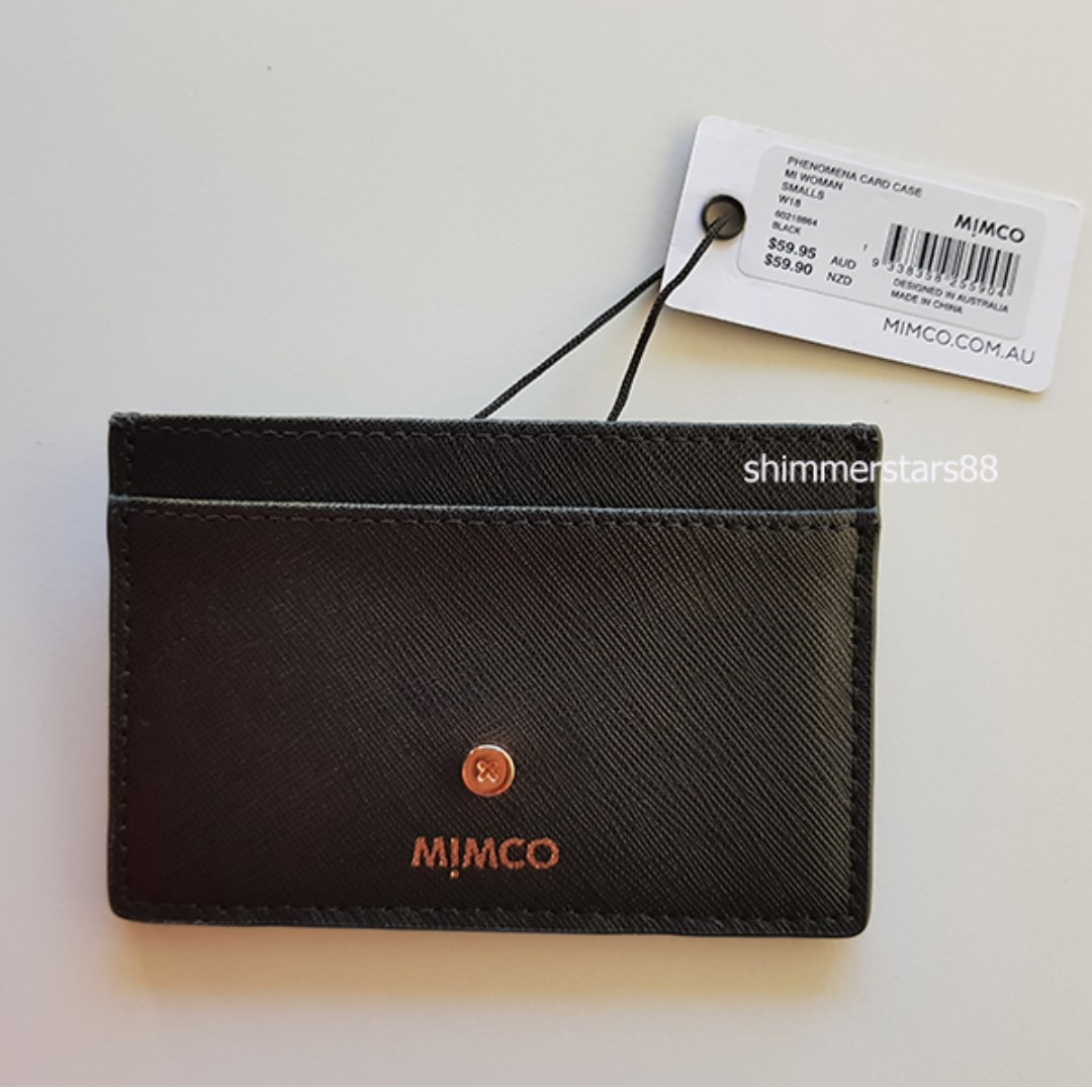 cheaper 9b435 7e63b New! Mimco Phenomena Card Case Wallet Holder RRP$59.95, Free Postage ...