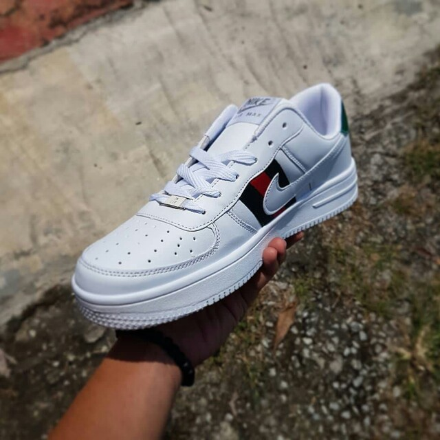NIKE AIR FORCE GUCCI Mens Fashion Footwear On Carousell