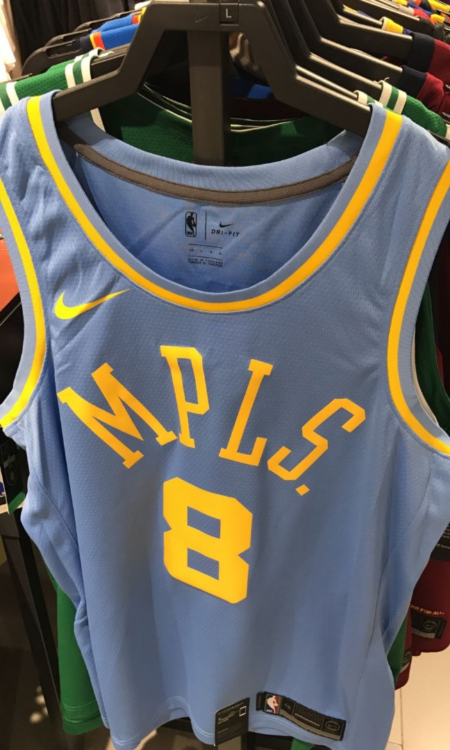 new styles 8ba3a d121c Nike Kobe Bryant #8 Lakers Classic MPLS Jersey