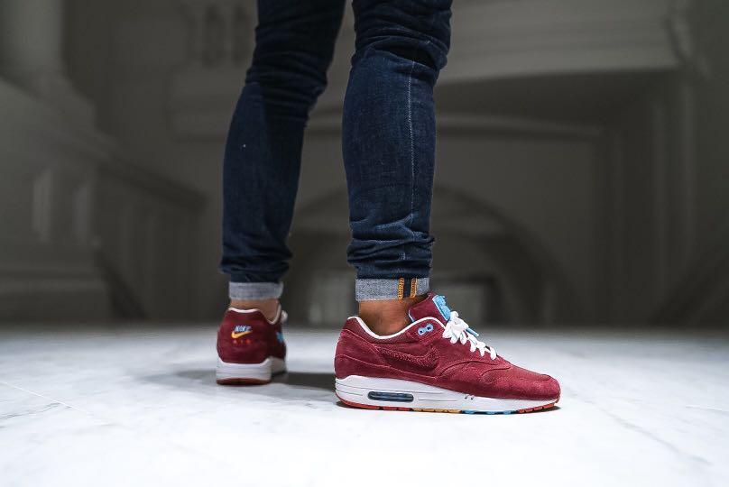 Parra On Zqugsvpm Nike Cherrywood 1men's Patta X Airmax Fashionfootwear PiOXZTku