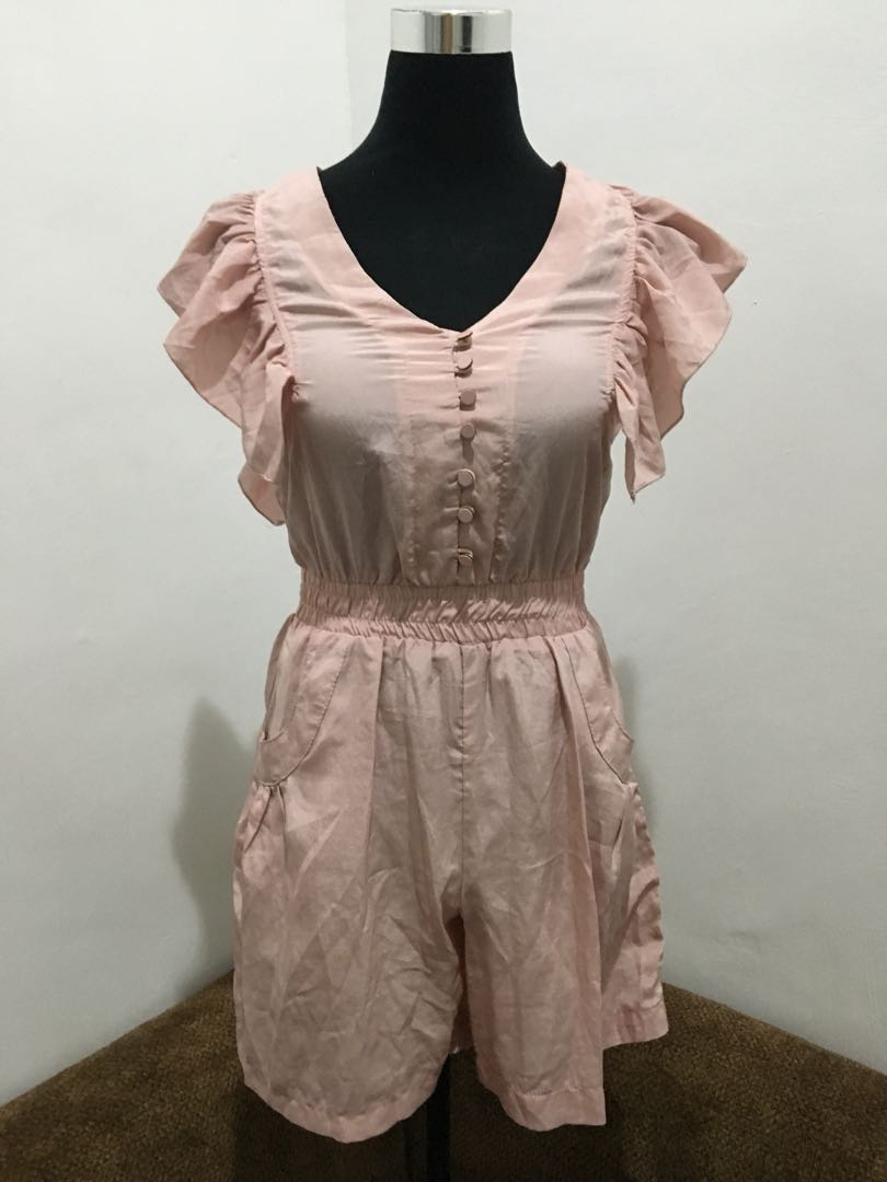 Old Rose Romper