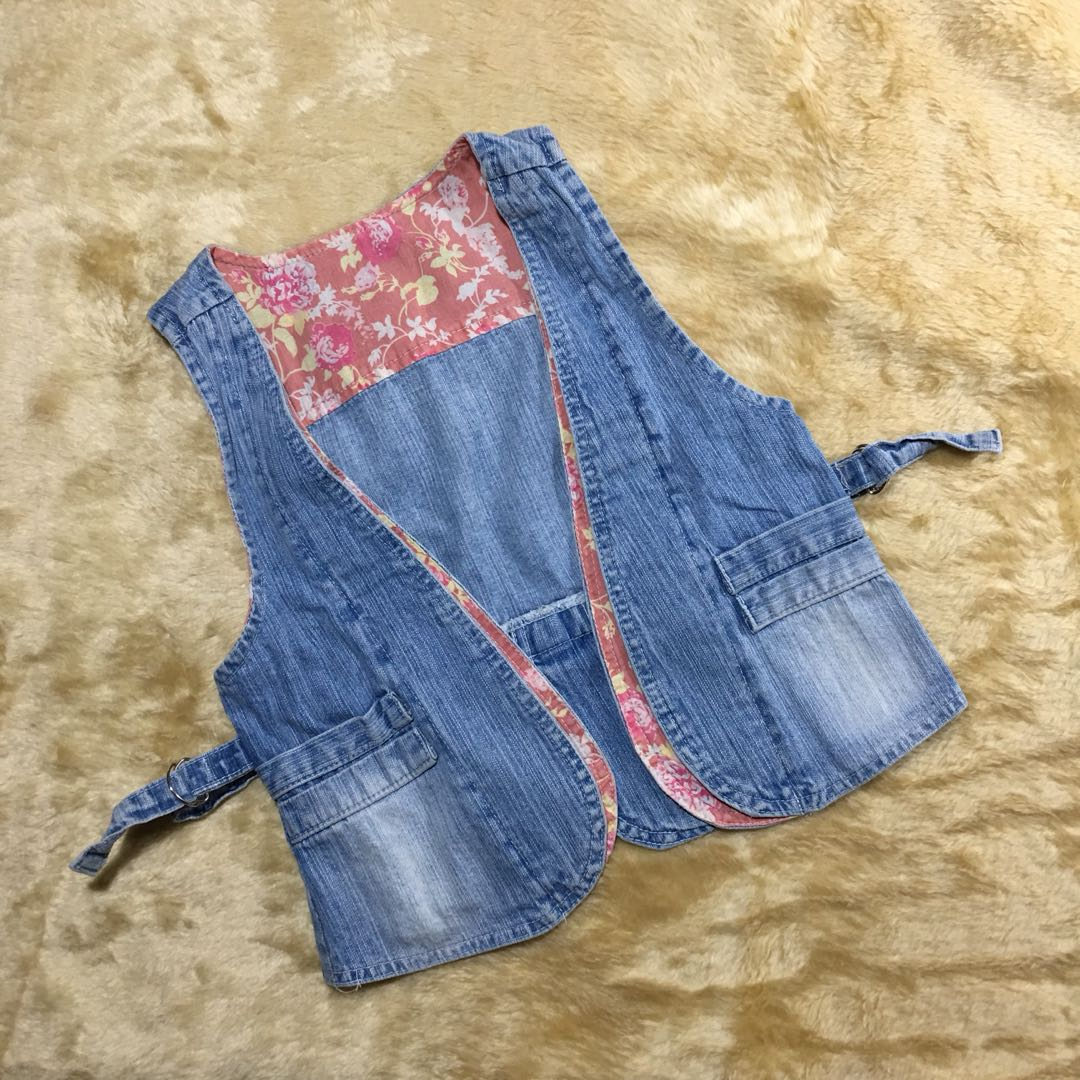 outer - rompi jeans