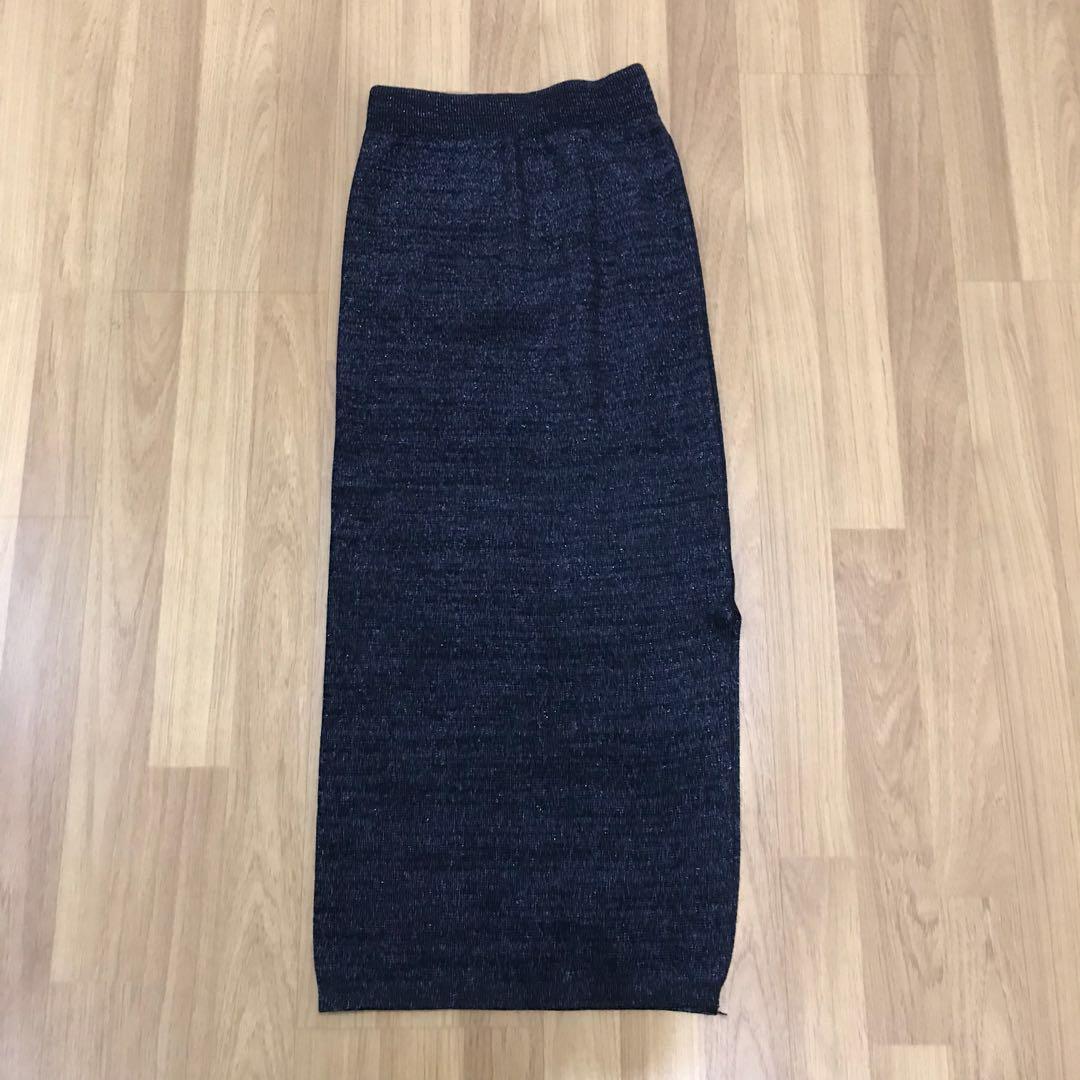 Pencil Skirt Side Slit
