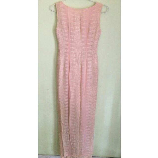 Pink sexy dress