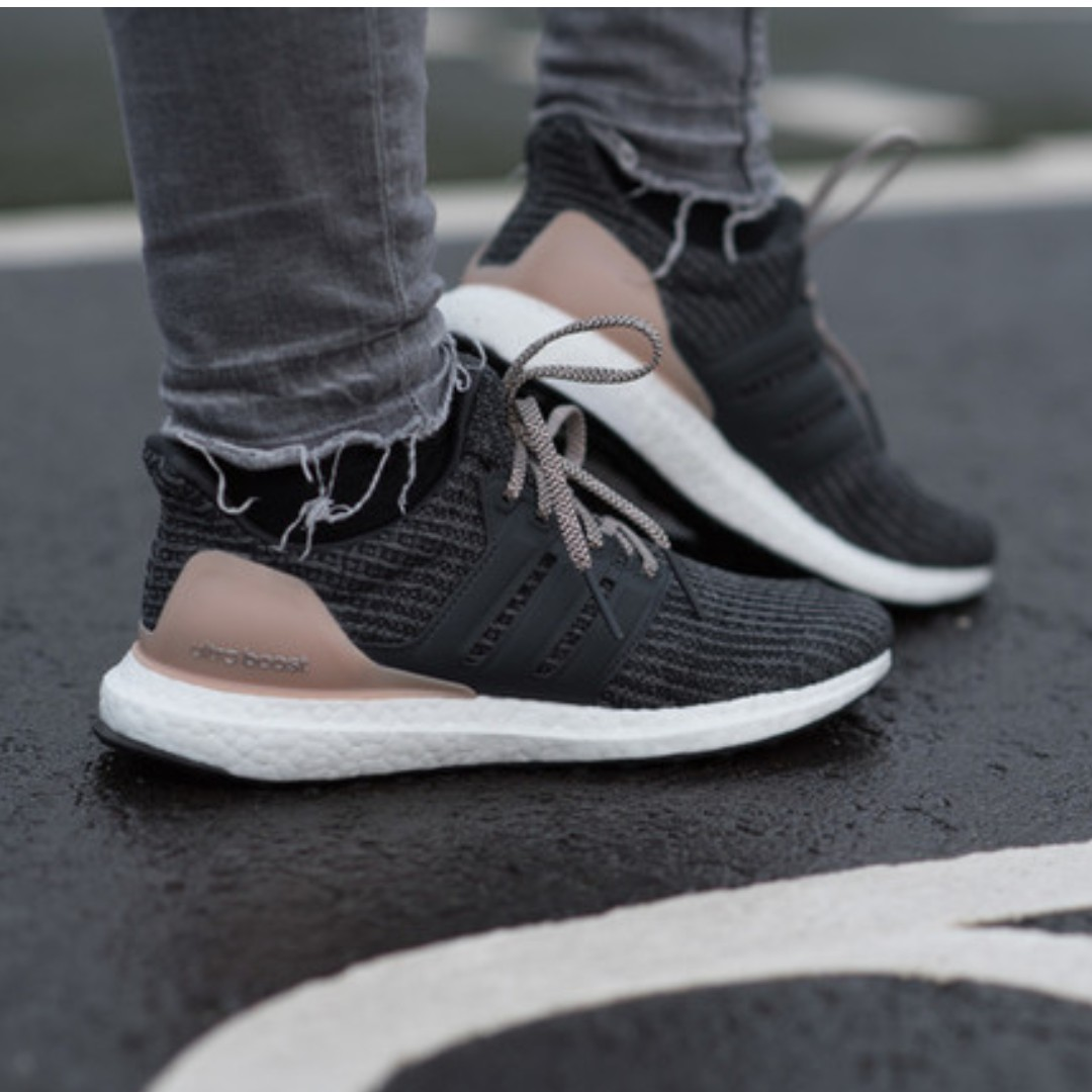 new concept 574d6 ae9c8 PO) Adidas Womens Ultra Boost 4.0 Carbon Ash, Women's ...