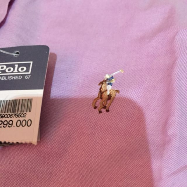 Polo Pink Authentic (With Price Tag) - New condition