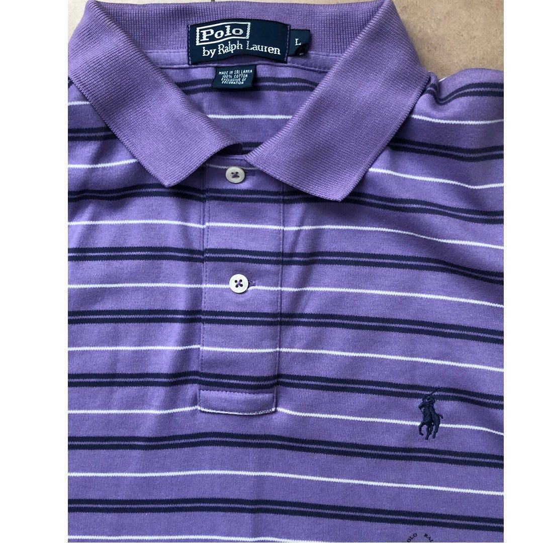 51b52967ccf9 ... italy polo ralph lauren polo t shirt purple new mens fashion clothes on  4597b ba494