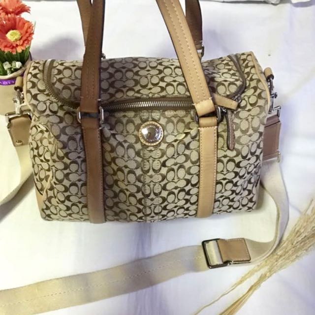 Pre Loved Authentic Coach Bag Can Be Worn Two Ways Used But Not Abused Excellent Condition