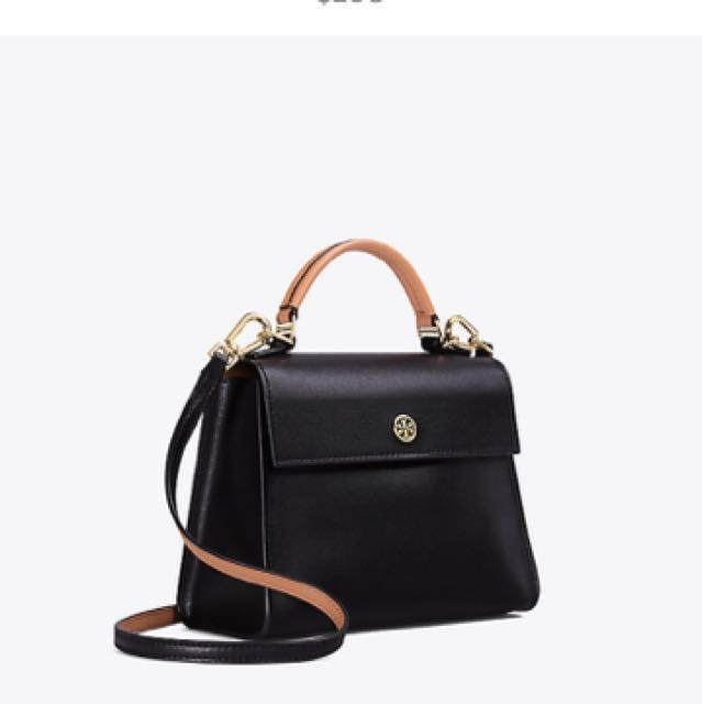 a6daf25fd84 PRICE REDUCED (again) Tory Burch Parker Color-Block Small Satchel ...