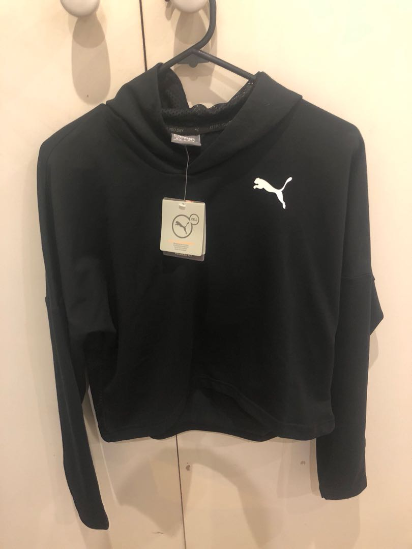 Puma cropped jumper XS