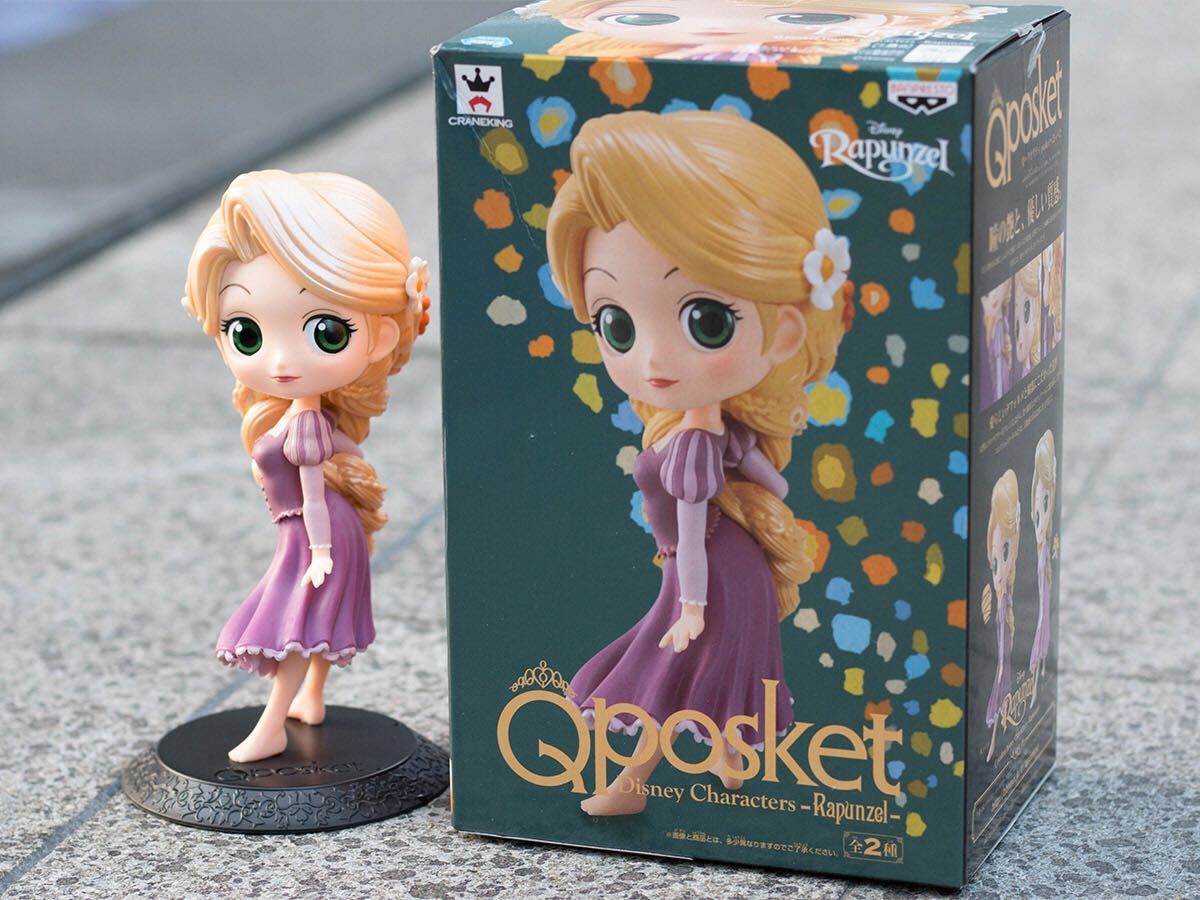 Qposket Tangled Rapunzel Toys Games Bricks Figurines On Carousell Figure