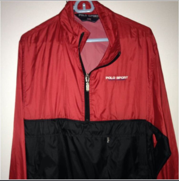 Ralph Polo Jacket Windbreaker Coat