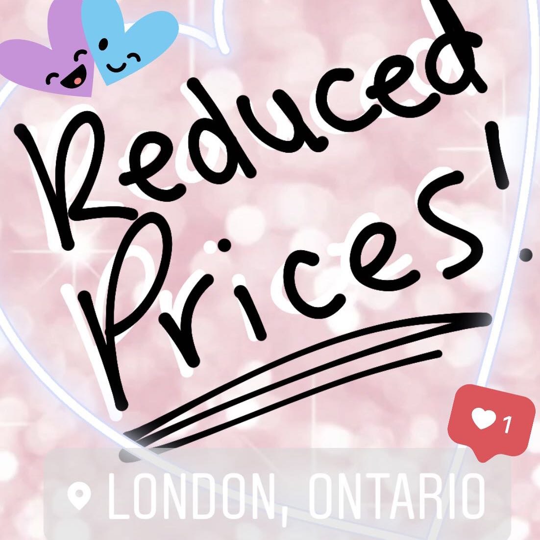 🎉reduced prices🎉
