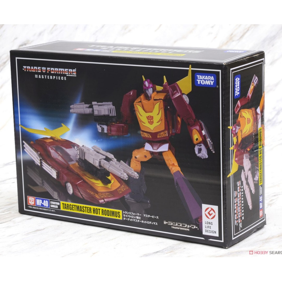 Transformers Masterpiece MP-40 Targetmaster Hot Rodimus Coin