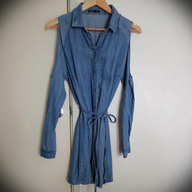 Sass denim dress