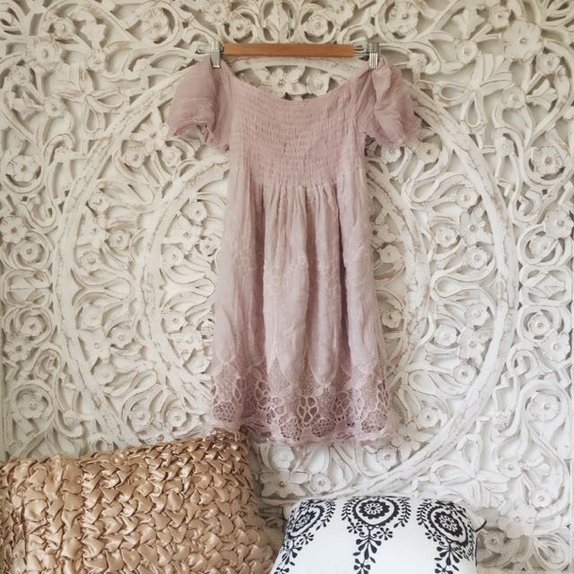 Shirred Summer Dress