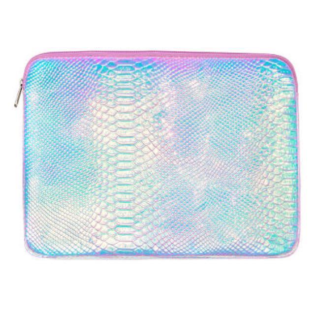 """Snake Skin Hologram Laptop Sleeve / Cover 13"""""""