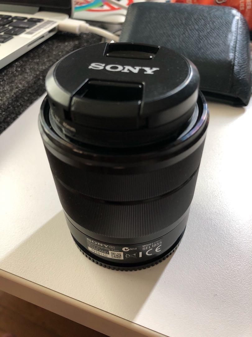 Sony SEL1855 kit lens