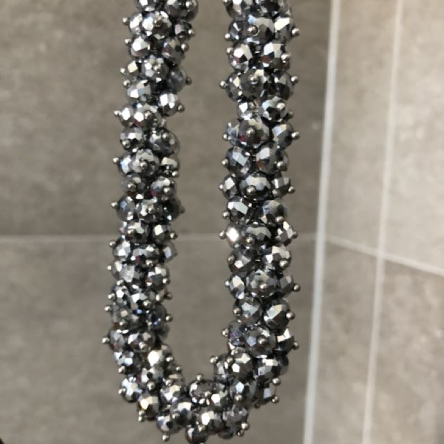 Sparkly Metal Necklace