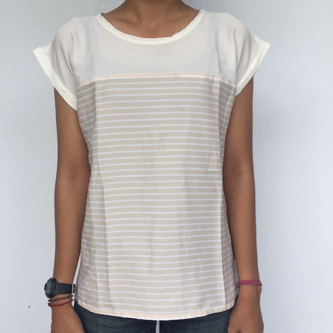 Stripe Pastel Blouse