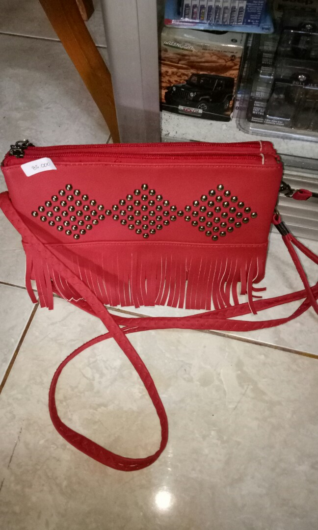 Tas mini merah