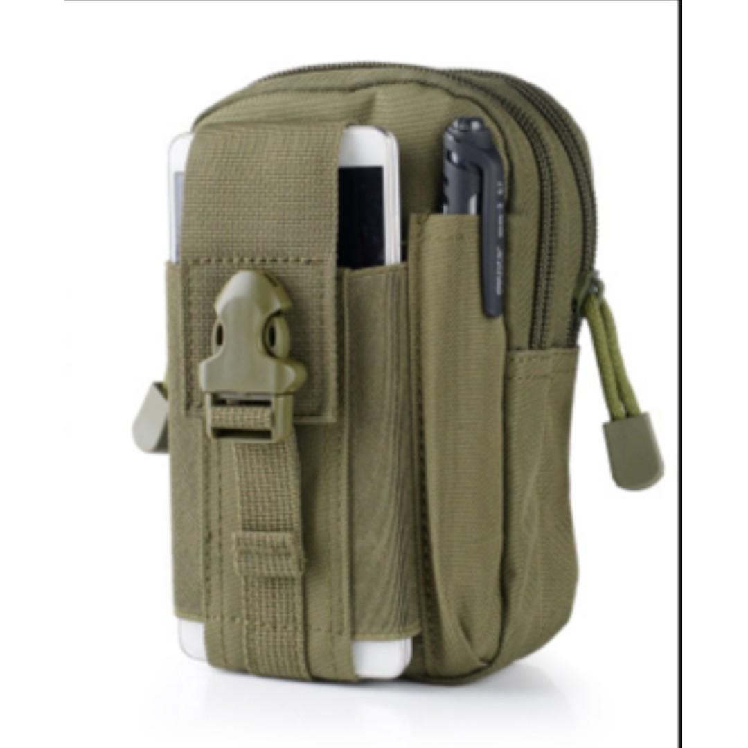 Tas Pinggang Pria Men Waist Bag Tas Kanvas Bahan Kuat murah - FAP002, Preloved Fesyen