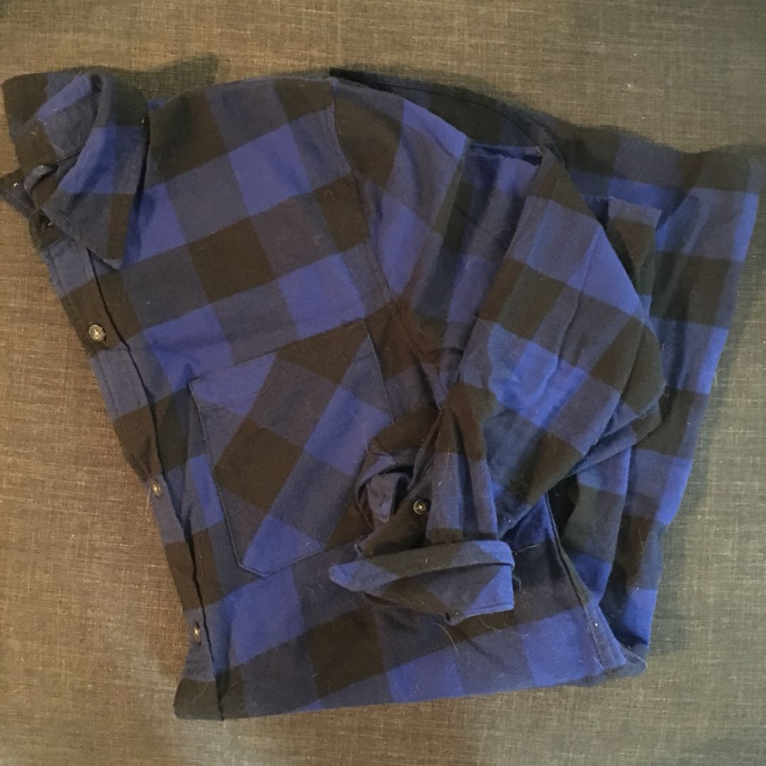 TNA Flannel dress, Size M