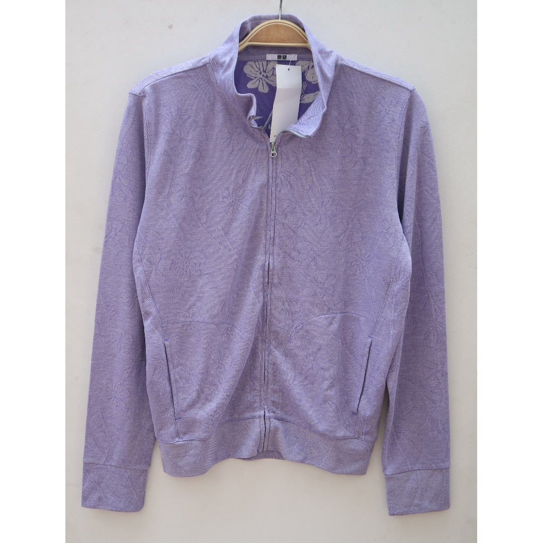 Uniqlo Jacket LT Purple