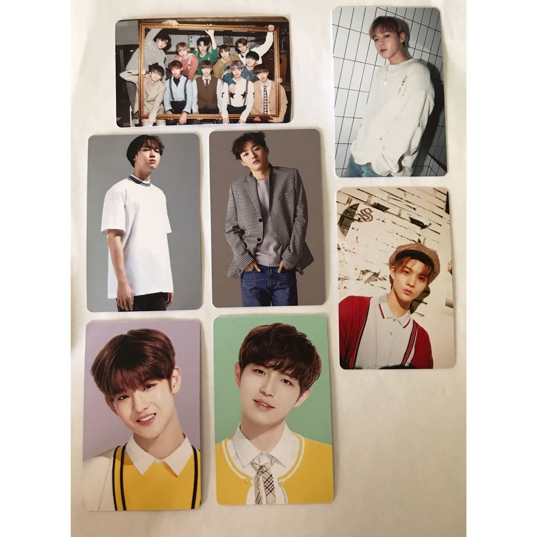 Unofficial Wanna One Photo Cards