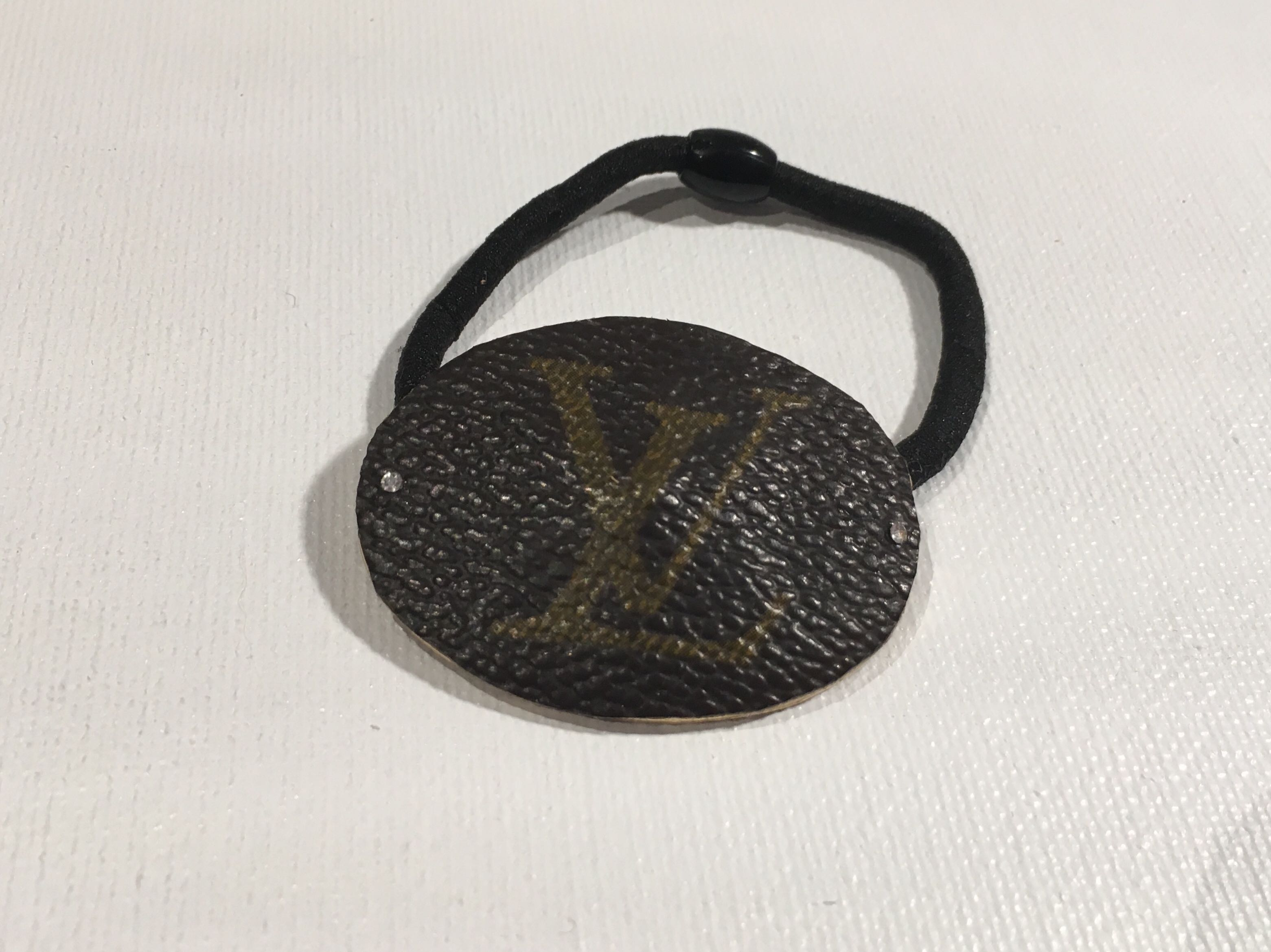 *Upcycled* LOUIS VUITTON Hair Tie