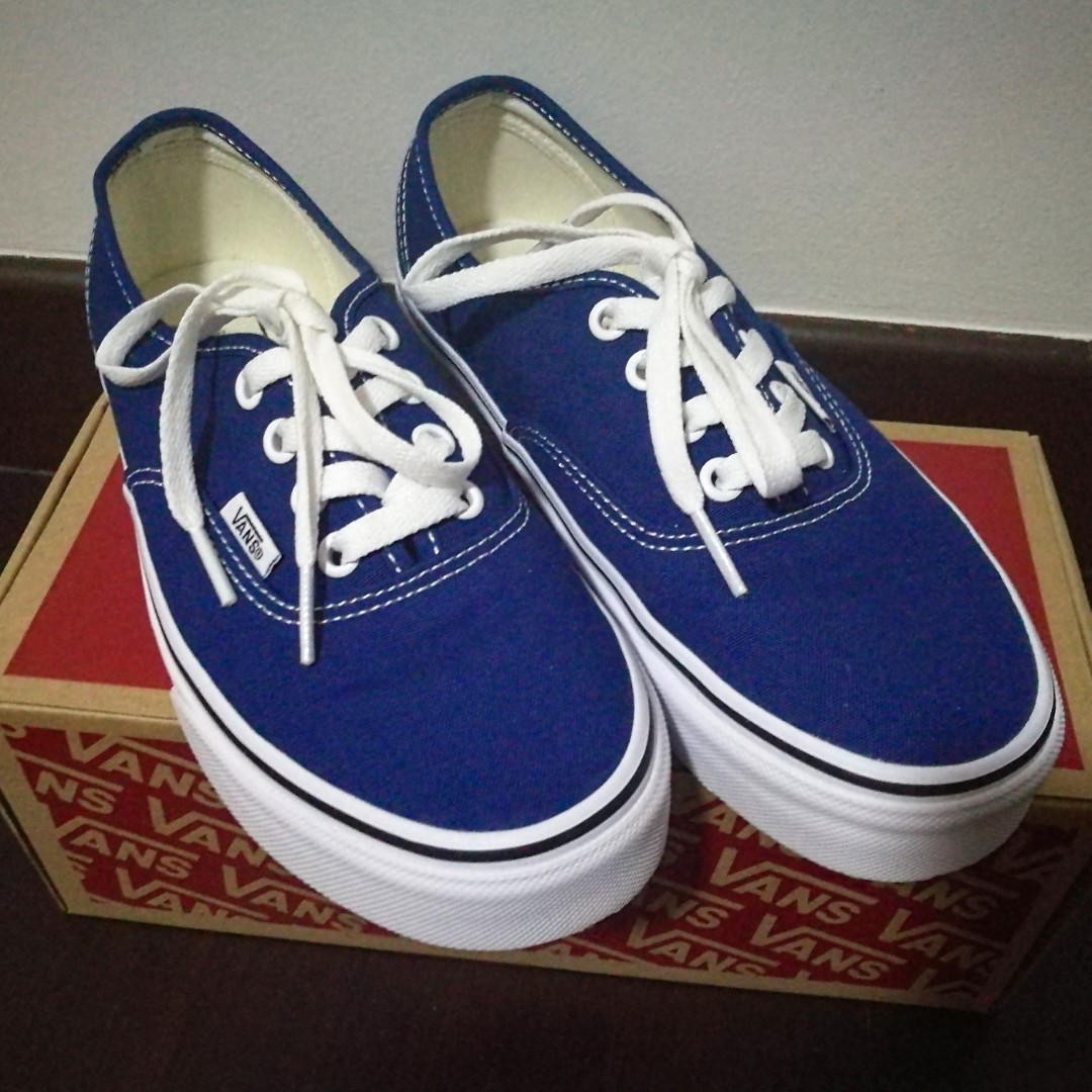 ee0e183eed4d8c PRICE DROPPED FOR FAST DEAL!  VANS Authentic Estate Blue