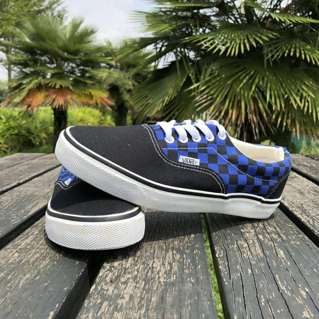 4e7d9c04329 Vans Classic Chex Scottish Blue