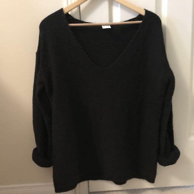VERO MODA Black winter sweater size M