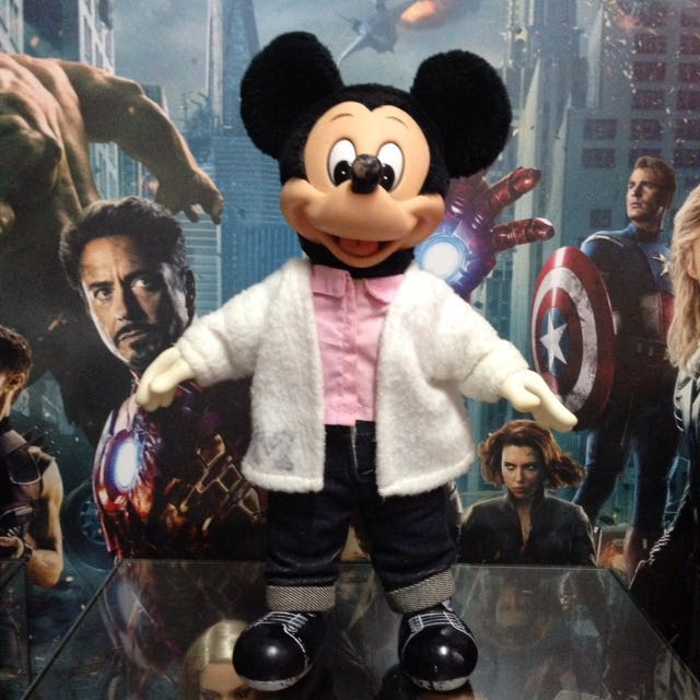 SALE! Vintage Applause Mickey Mouse soft toy